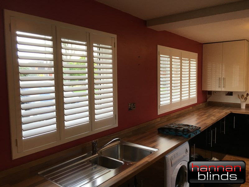 Shutters in a Kitchen