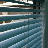 Combine Venetian Blinds with our Perfect Fit frame for a neat finish