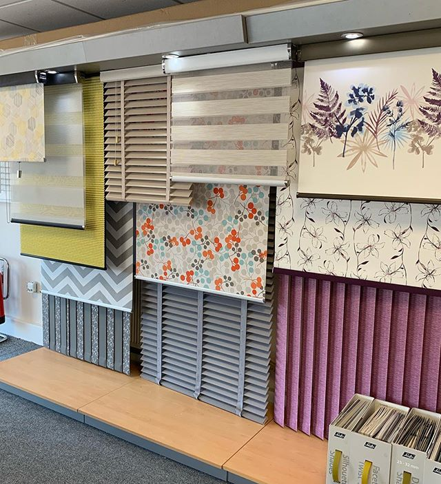 Preston Blinds Showroom
