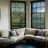 For a deluxe Wooden Blinds, choose from our Timberlux Collection